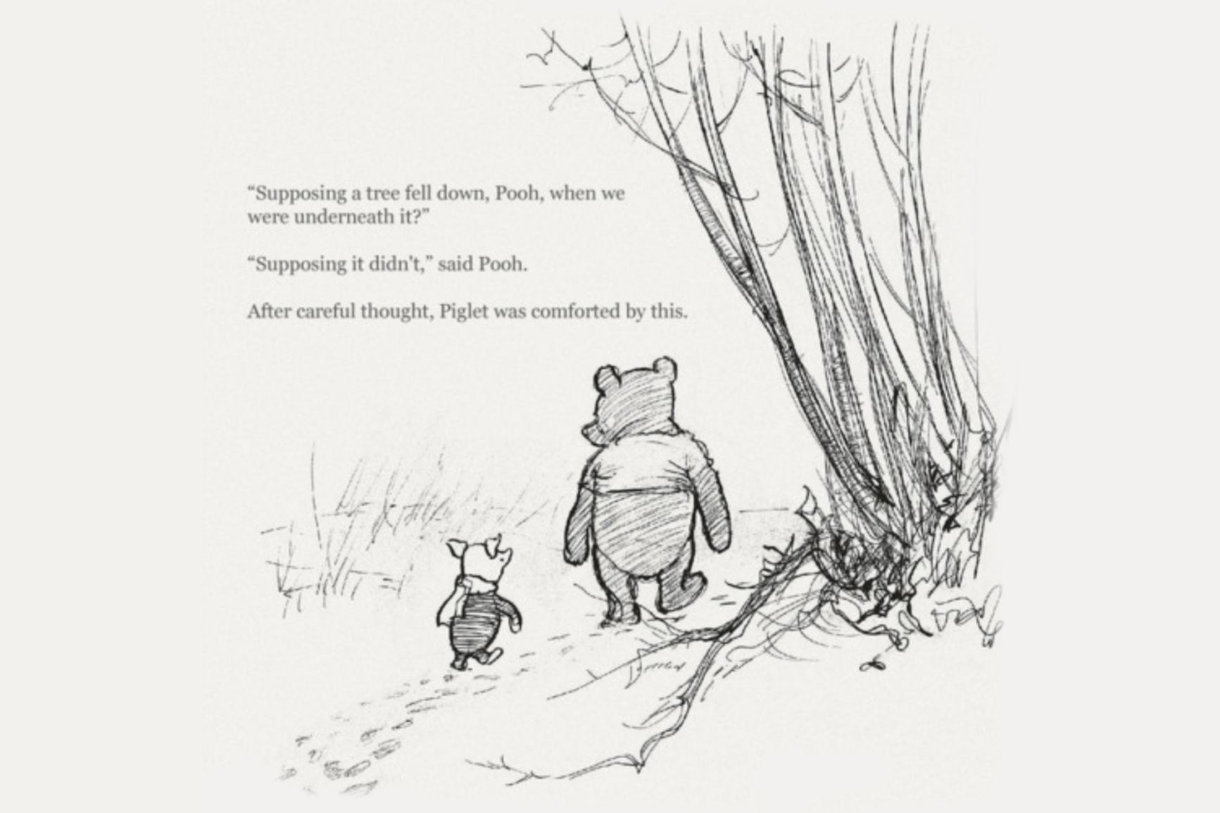 BE MORE POOH.